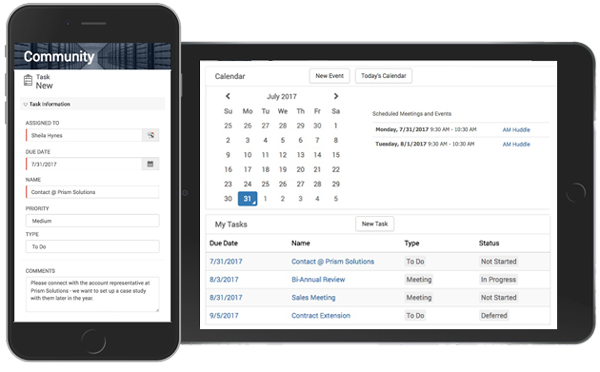 Magentirx Employee Collaboration Features- Task Management