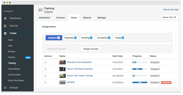 Magentrix Training Feature - Manage Users