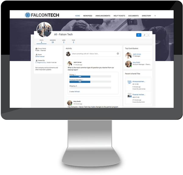 Magentrix Dynamics CRM - Employee Communities