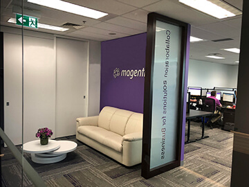 Magentrix Office - entrance
