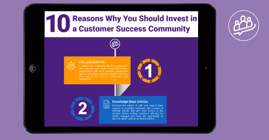 10 Reasons why you should invest in a customer success community