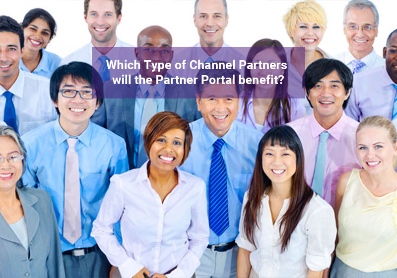 Which type of channel partner does a partner portal benefit?