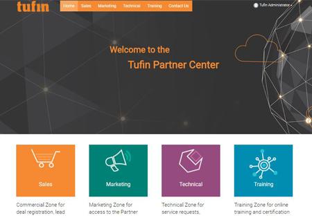 Tufin PRM Portal Homepage