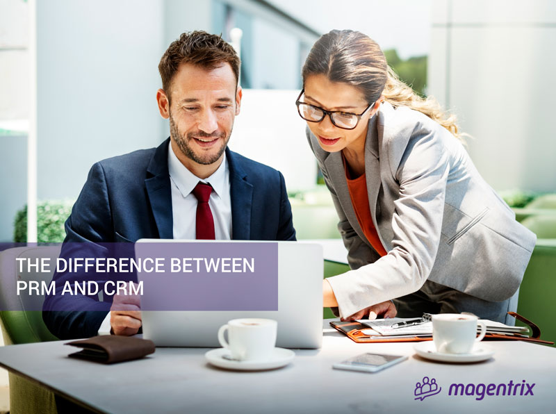The difference between PRM and CRM