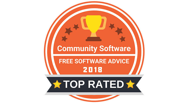 Top rater community software - Magentrix badge