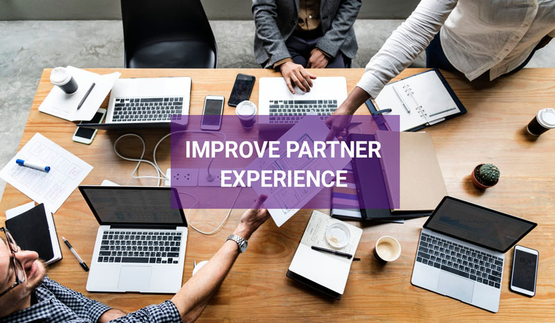 Improve partner experience