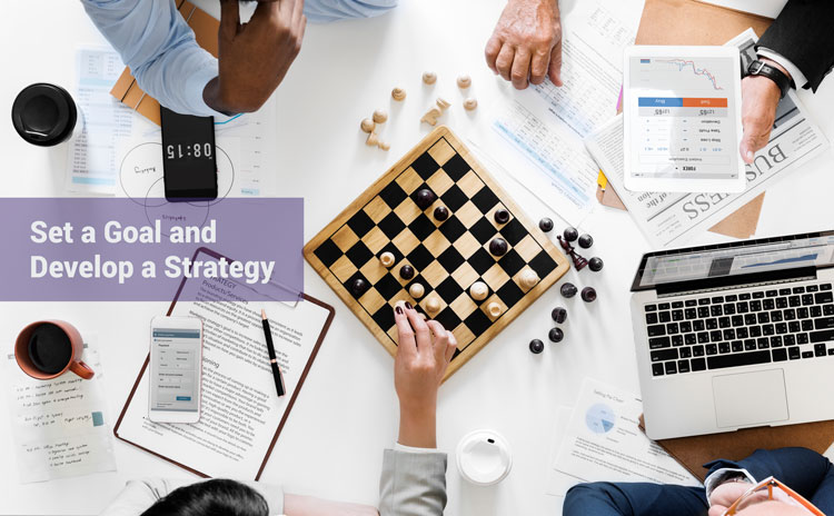 Set a Goal and Develop a Strategy for you Partner Program