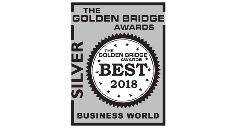 Magentrix Silver status in the Golden Bridge Awards® for Partner Relationship Management Solution