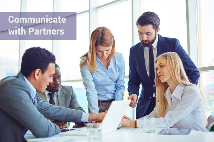 Communication with Channel Partners