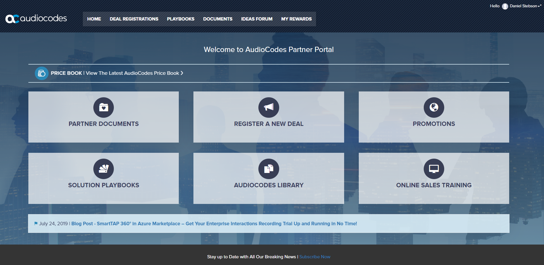 Need 1000+ Users In Your Partner Portal? The AudioCodes Story